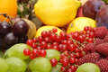 Large heap of fresh fruit Royalty Free Stock Image