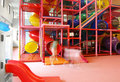 Large indoor play equipment Royalty Free Stock Photography