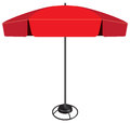 Large industrial umbrella