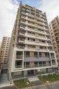 Large modern apartment block Royalty Free Stock Photo