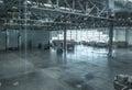 Large modern storehouse Royalty Free Stock Photo
