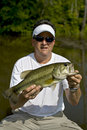 Large mouth bass Stock Photos