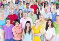 Large Multi-Ethnic Group Of Pe...