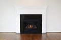 Large Natural Gas Fireplace Royalty Free Stock Photography