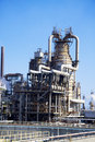 Large oil refinery in Italy Royalty Free Stock Photo