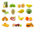 Large page of fruits Stock Image