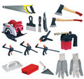 Large page of tools Royalty Free Stock Photo