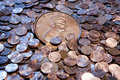 Large Penny Royalty Free Stock Photo