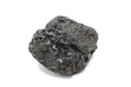 A large piece of coal Royalty Free Stock Photo