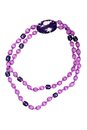 Large purple beads Royalty Free Stock Photo