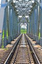Large railway bridge