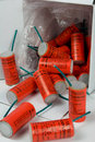 Large Red Firecrackers Royalty Free Stock Photos
