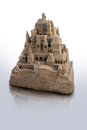 Large  sandcastle Royalty Free Stock Images