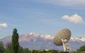 Large satellite dish Royalty Free Stock Photo