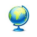 Large school globe