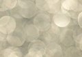 Large Shimmering Champagne Bokeh background Royalty Free Stock Photo
