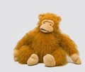 Large soft toys photo of toy animals photographed on a white background Royalty Free Stock Photo