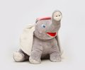 Large soft toys photo of toy animals photographed on a white background Stock Photography