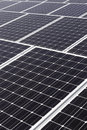 Large solar power panels Royalty Free Stock Image