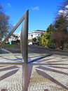Large Sundial in Greenwich Park Royalty Free Stock Photo