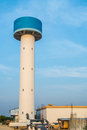 Large tap water tank and water treatment Plant Royalty Free Stock Photo