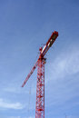 Large Tower Crane Royalty Free Stock Photo