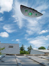 Large UFO Royalty Free Stock Photo