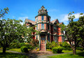 Large Victorian Mansion Royalty Free Stock Photo