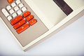 Large Vintage Calculator Royalty Free Stock Photo