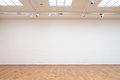 Large White Wall With Wooden F...