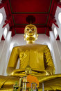A larger Buddha,  Ang Thong province, Thailand. Stock Photo