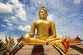 The largest Buddha statue in Thailand is located at Wat Muang in Angtong