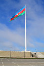 The largest flag in the world baku azerbaijan Royalty Free Stock Photos