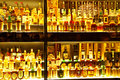 The largest Scotch Whisky collection in the world Stock Photos
