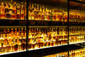 The largest Scotch Whisky collection in the world Stock Image