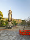 Largest Stone Pagoda in Japan Royalty Free Stock Images
