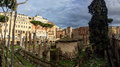 Largo di torre argentina in rome italy Stock Images