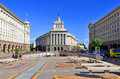 The largo sofia bulgaria september this is an architectural complex in downtown sofia which includes headquarters of many Stock Photography