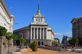 The largo sofia bulgaria september this is an architectural complex in downtown sofia which includes headquarters of many Royalty Free Stock Image