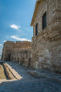 Larnaca castle Cyprus Royalty Free Stock Photo