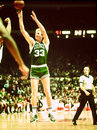 Larry för fågelboston celtics legend Royaltyfri Fotografi