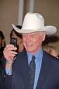 Larry Hagman Royalty Free Stock Photography