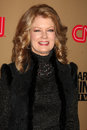 Larry king mary hart los angeles dec arrives at cnn s live final broadcast party at spago on december in beverly hills ca Royalty Free Stock Image