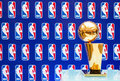 Larry O'Brien NBA Championship Trophy Royalty Free Stock Photo