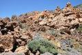 Las canadas del teide range national park tenerife canary islands spain Stock Photos