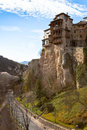 Las Casas Colgadas at Cuenca, Spain Stock Photos