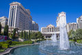 Las vegas caesars march the palace hotel on march in palace is a luxury hotel and casino located on the Stock Photo