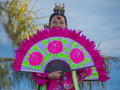 Las vegas chinese new year feb folk dancer perform at the celebrations held in nevada on february Royalty Free Stock Photos
