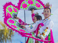 Las vegas chinese new year feb folk dancer perform at the celebrations held in nevada on february Stock Photo