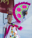 Las vegas chinese new year feb folk dancer perform at the celebrations held in nevada on february Royalty Free Stock Images